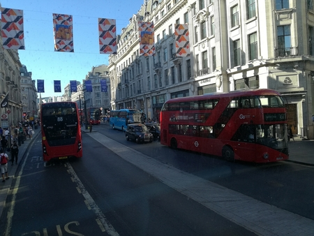 Enfin les photos de Londres !