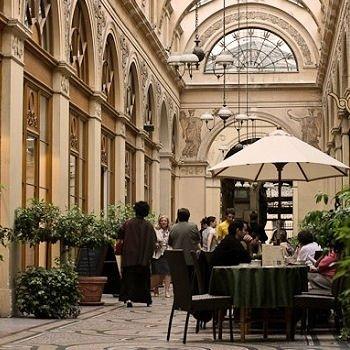galerie vivienne dans le iie arrondissement de paris