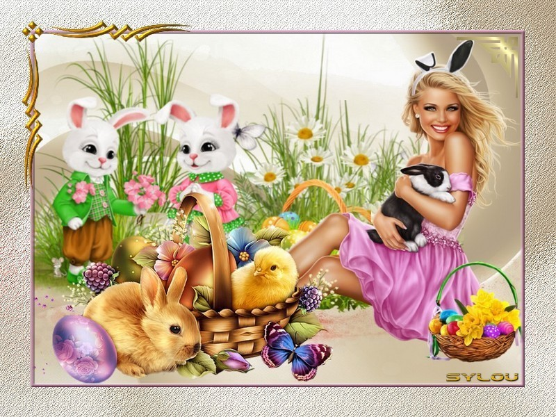 Créas Femmes de Pâques ღ
