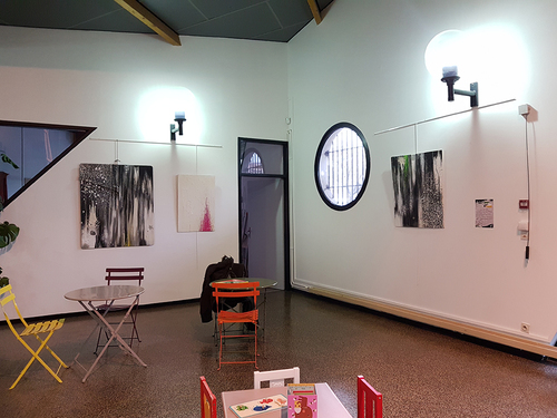"""exposition """"Nuances"""" Jerc Avril 2017 Maison pour tous André Chamson Montpellier. Est-ce la couleur qui fait la différence ou les différences qui font la couleur ?"""
