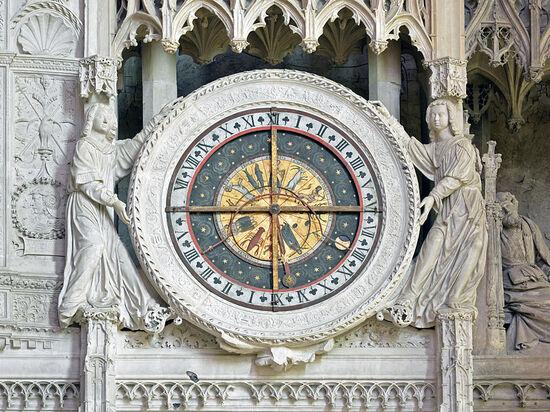 exposé cathédrale de chartres