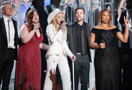 Grammy Awards : Tous les Looks ne riment pas forcément avec bon goût... madonna