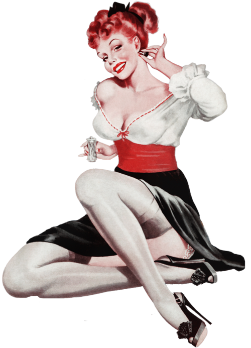 Femme pin up 2