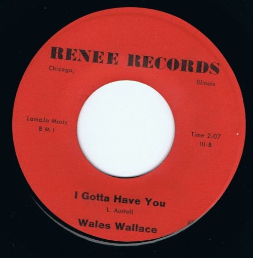 WALES WALLACE - i gotta have you