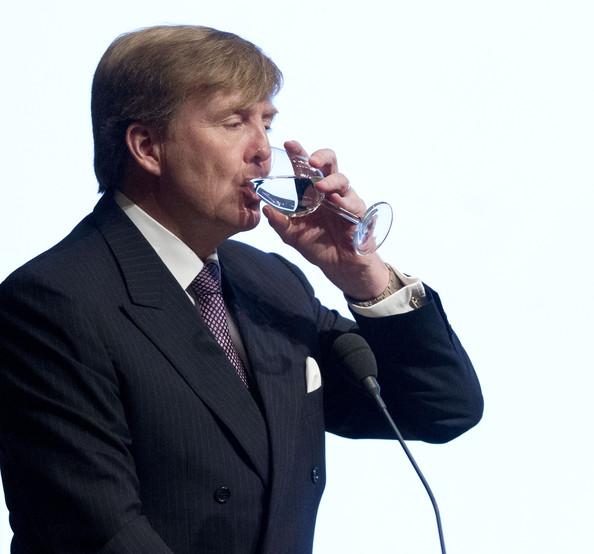 Willem Alexander et l'eau
