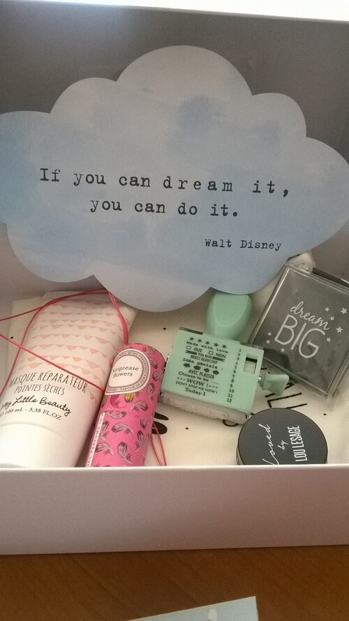 my little dream box d'avril 2015