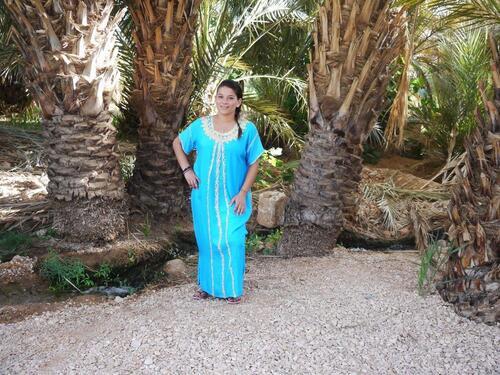 Elle est belle notre petite marocaine