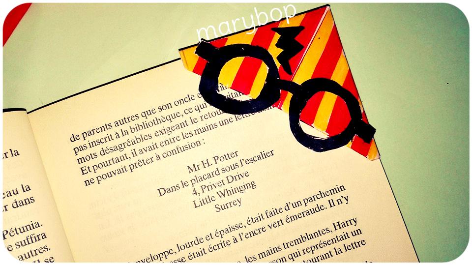 Assez Marque-page Harry Potter - La Classe de Marybop GG25
