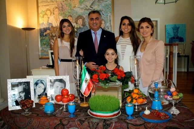 Norouz, Nouvel an iranien