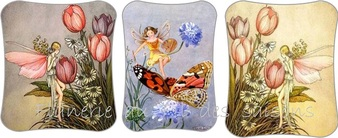 La Fée du printemps ! cartonnettes