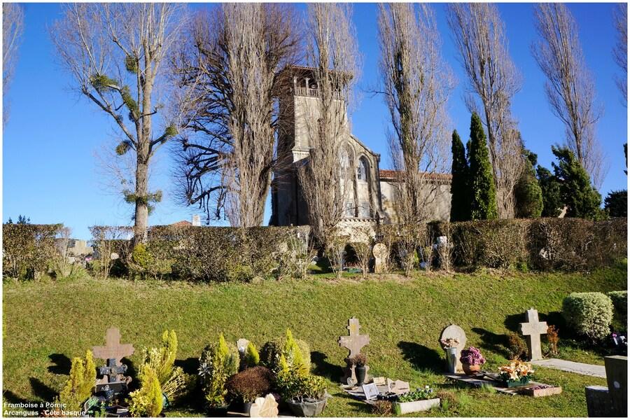 Arcangues Eglise St Jean Baptiste