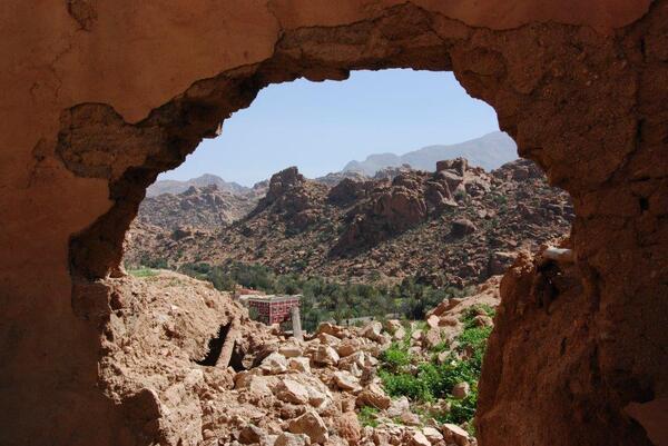 Encore une vue sur les rochers