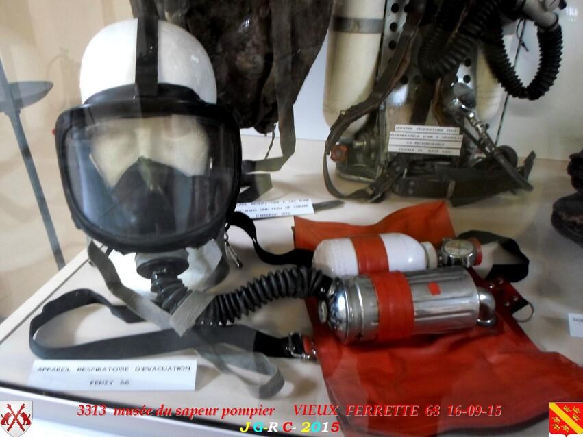 Musée du Sapeur Pompier d'ALSACE  3/3  18/26   VIEUX FERRETTE  68   D  24-02-2016