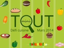 mini Pizzas sucrées  - défi recettes de du mois de mars: tout mini