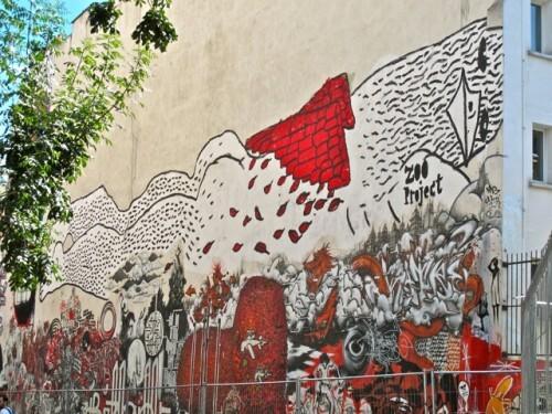 Zoo Project Street-art Kommune Belleville