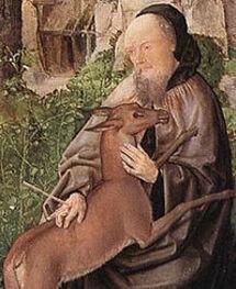 Saint Gilles. Ermite près de Narbonne, en Septimanie († 720)