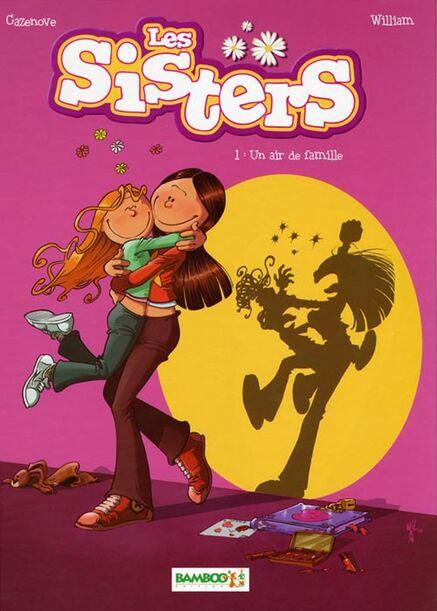 """Résultat de recherche d'images pour """"les sisters un air de famille image bd"""""""