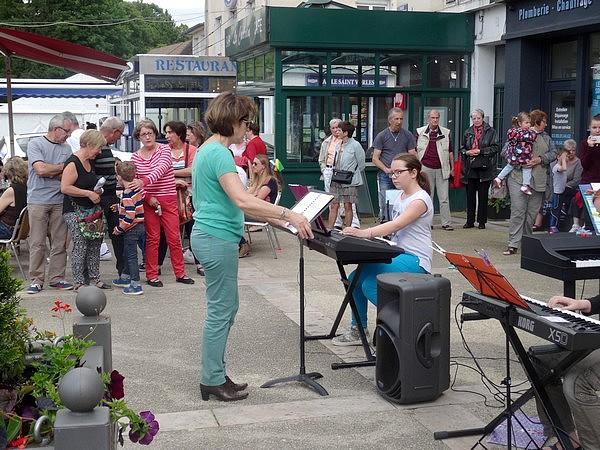 Châtillon sur Seine a fêté la musique le 21 juin 2016...