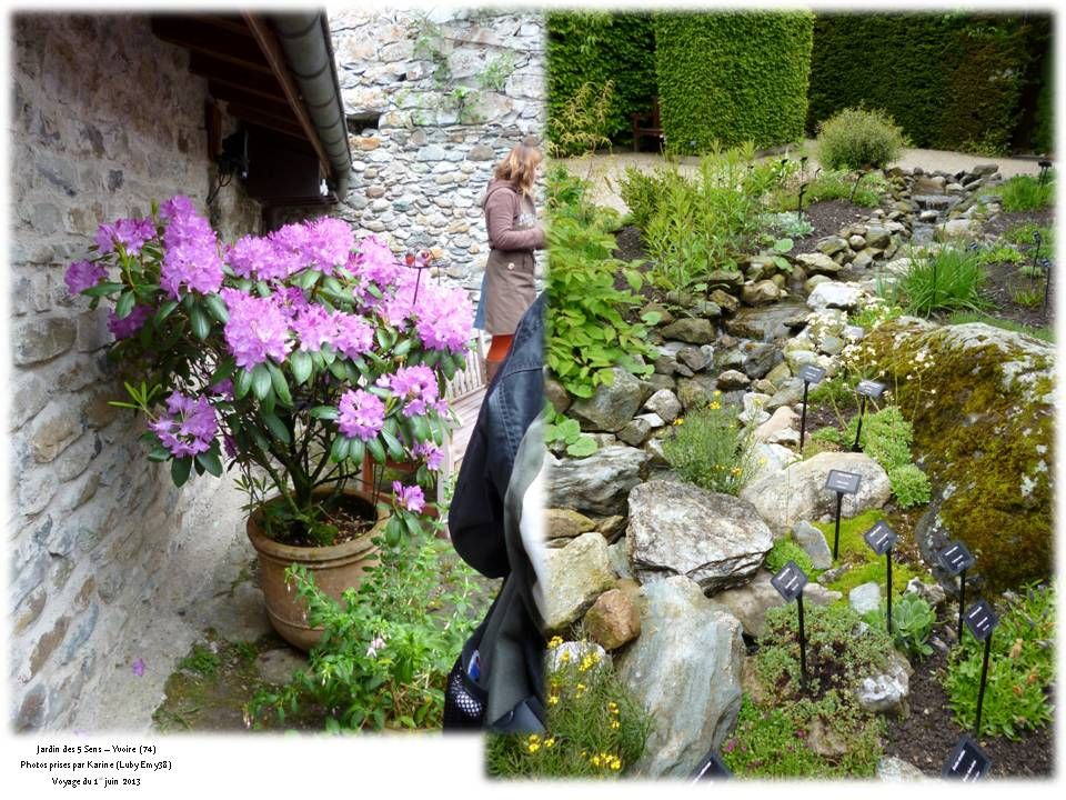 Voyage yvoire jardin des 5 sens floriscola for Jardin yvoire