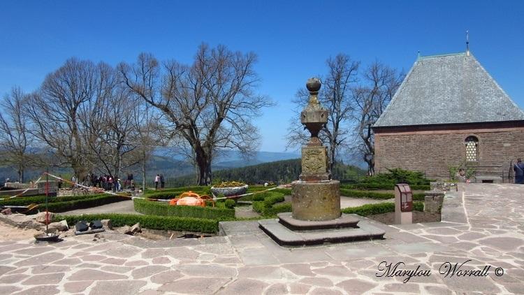 Mont Sainte-Odile : Le château de Hohenbourg