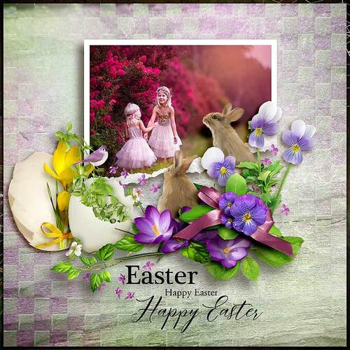 Magical Easter by dentelle scrap