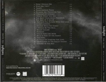 the score - twilight 3