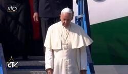 VIDÉO - Accueil officiel du Pape François à l'aéroport international de Sarajevo - kto - ctv