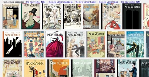 THE NEW YORKER COVERS :