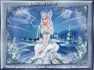 Défi (3) Belle en hiver ... pour Kalyona
