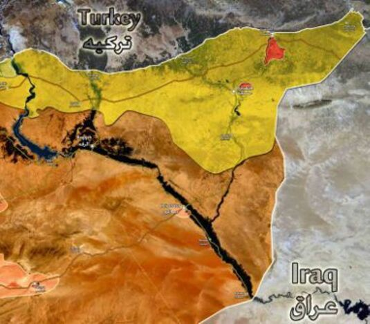 syrie-map
