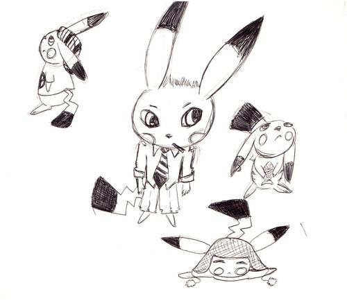 Pikachu en folie