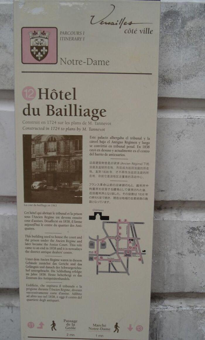 Balade Versaillaise découverte.