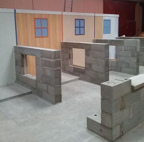 Les cabines de l'atelier HABITAT