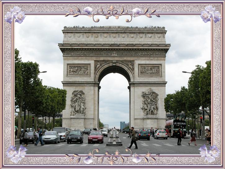 """Exposition Virtuelle:  """"Une vision de l'Arc de Triomphe de l'Étoile à Paris"""" Partie 1"""