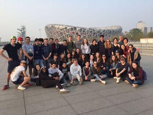 Au Village Olympique de Beijing