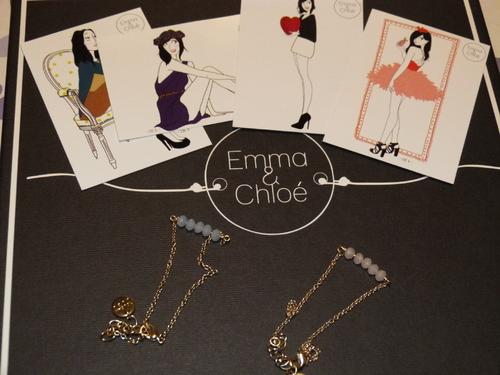 Emma & Chloé, mars 2014, Bracelet Joséphine, Toucan Bleu