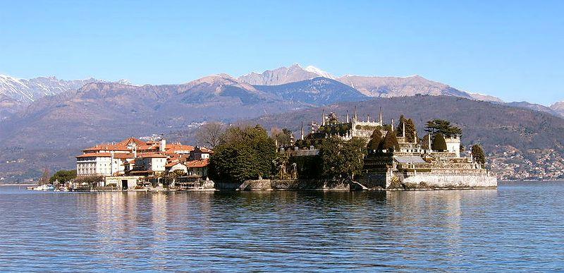 ITALIE -  découverte des iles Borromées du lac Majeur ( Borromean island of lake Maggiore ) + découverte du Lac Majeur et le Jardin Botanique de la  VILLA  TARANTO