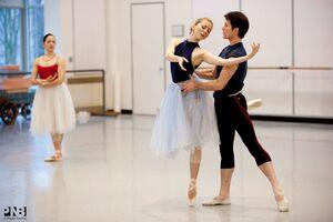 dance ballet class repertoire giselle