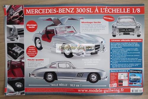 N° 1 Construisez la Mercedes-Benz 300 SL - Test