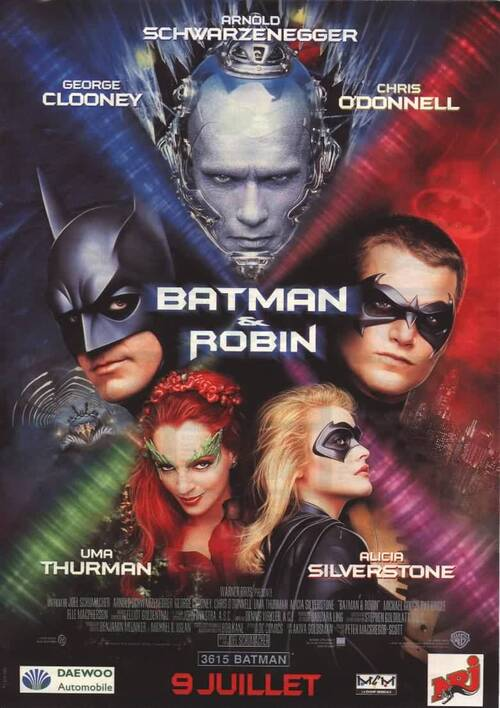 BATMAN ET ROBIN - BOX OFFICE BATMAN 1997