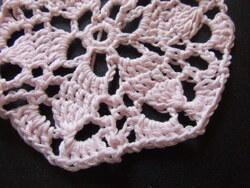 Création: napperon rose
