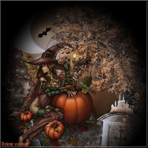 pour hallowenn un défi sur le forum