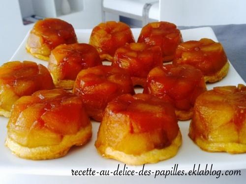 Recette mini tatin aux pommes