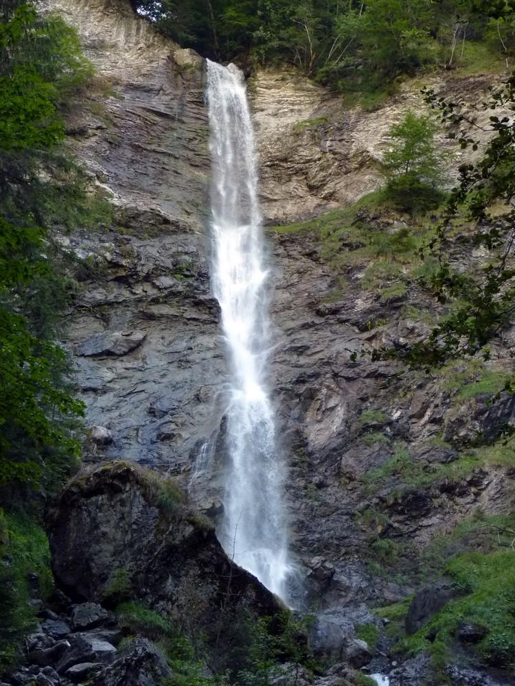 Haut de la cascade