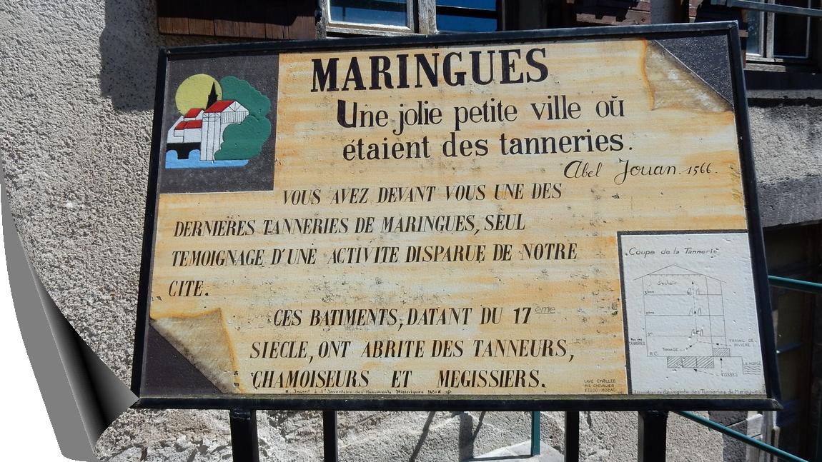 AUVERGNE PUY DE DÔME MARINGUES ET SES TANNERIES