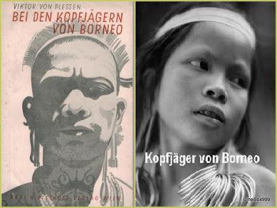 Kopfjäger von Borneo / Head Hunters of Borneo. 1936.