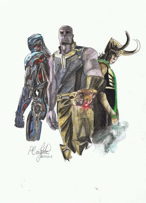 Super vilains Avengers