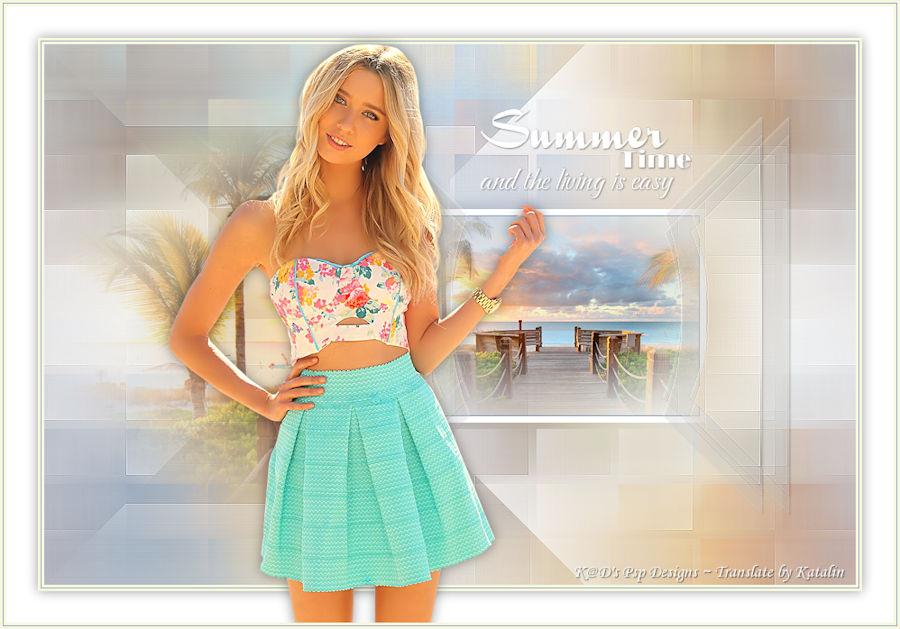 K@D's Psps Designs ~  Summer Time