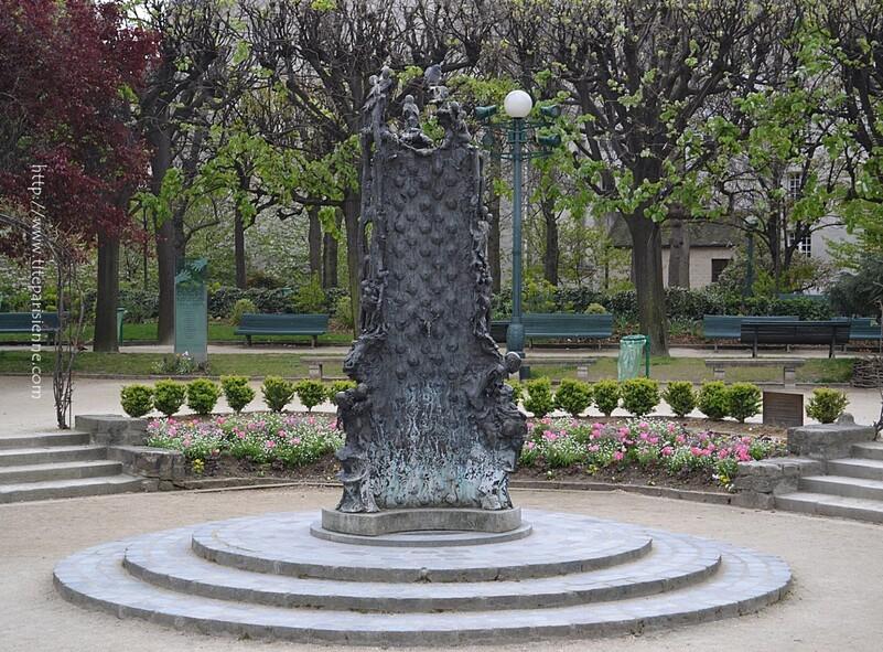 L'ïle de la Cité : Fontaine Saint Julien le Pauvre