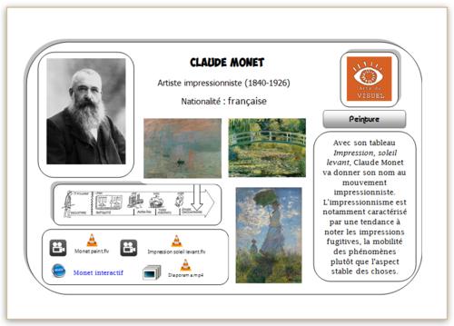 Carte Hda Monet